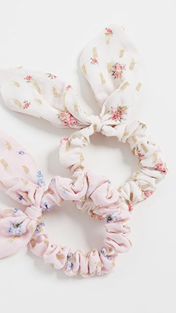 LOVESHACKFANCY Summer Shine Scrunchies