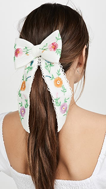 LOVESHACKFANCY Orchid Bow