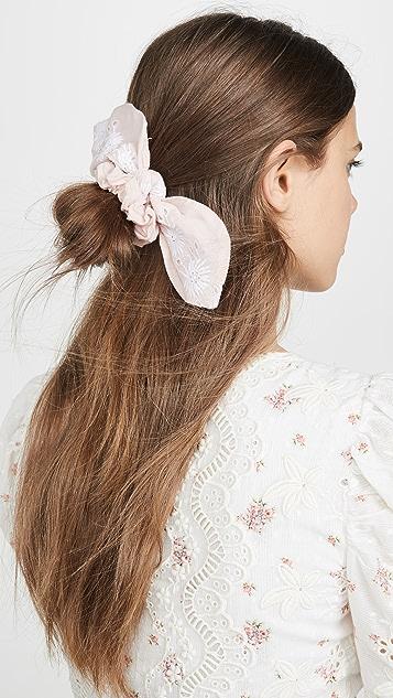 LOVESHACKFANCY Резинки для волос Villa Poinsettia