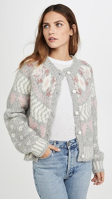 LOVESHACKFANCY Jamie Alpaca Sweater