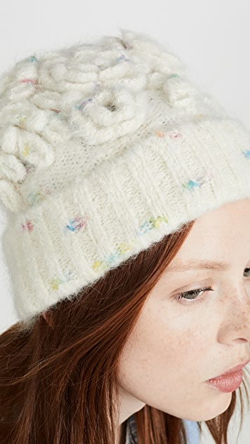 LOVESHACKFANCY Rosalia Hat