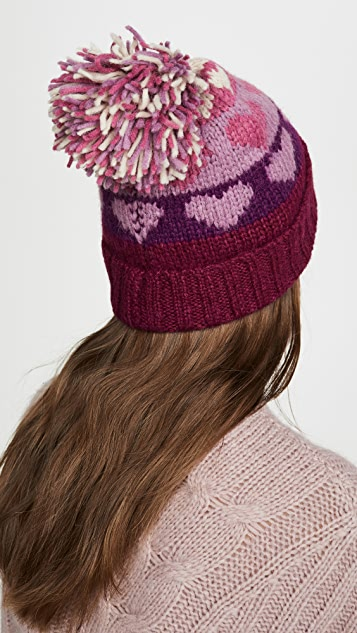 LOVESHACKFANCY Leili Hat