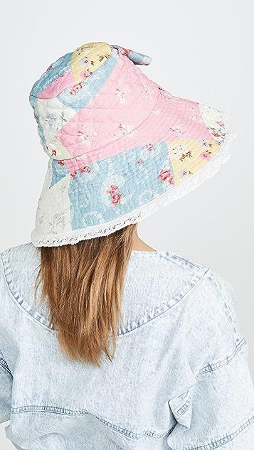 LOVESHACKFANCY Georgetta 帽子