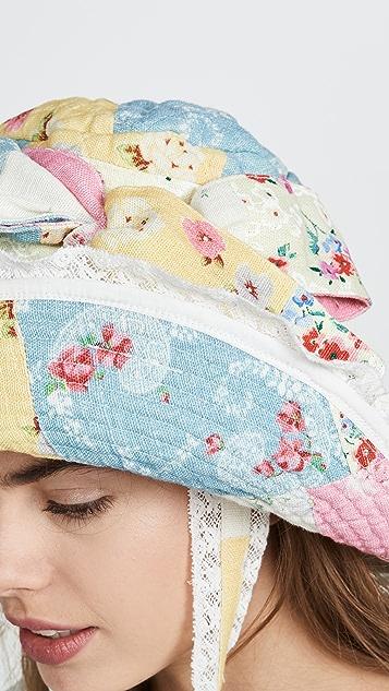 LOVESHACKFANCY Georgetta Hat