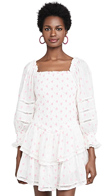 LOVESHACKFANCY Raelynn Dress