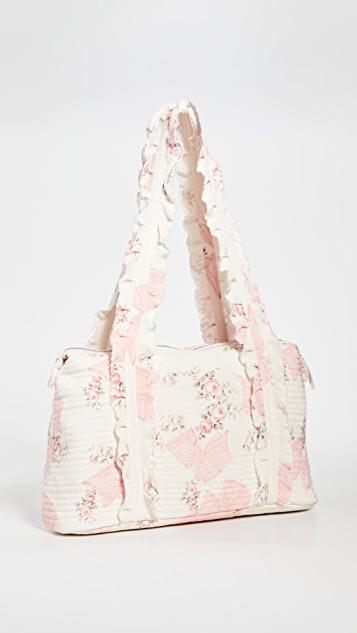 LOVESHACKFANCY Davie Weekender Bag