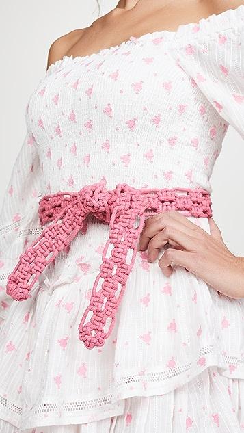 LOVESHACKFANCY Electra Belt