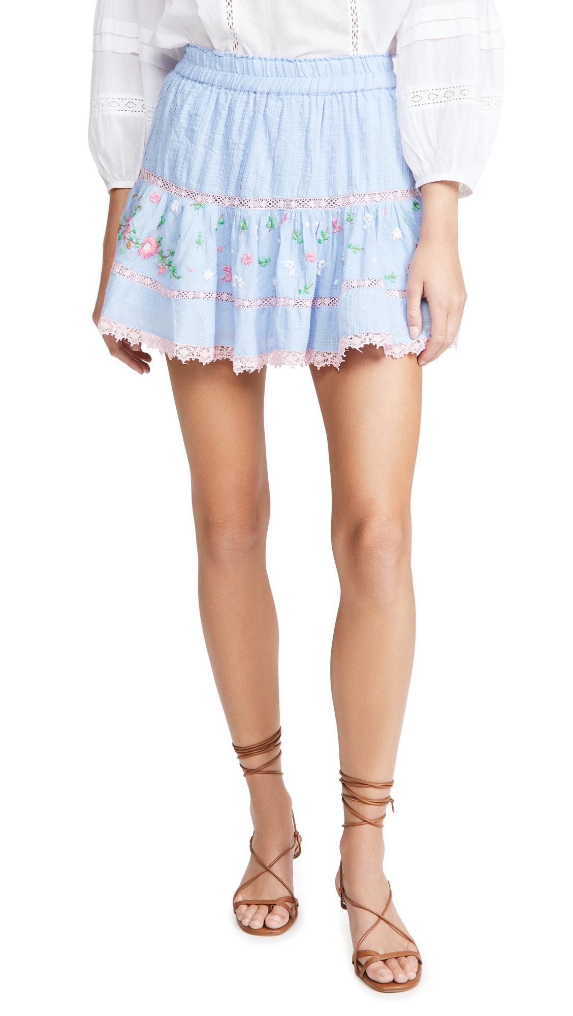 LOVESHACKFANCY Jennings Skirt