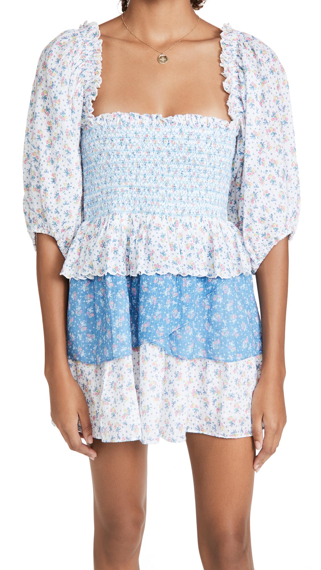 LOVESHACKFANCY Shaw Dress