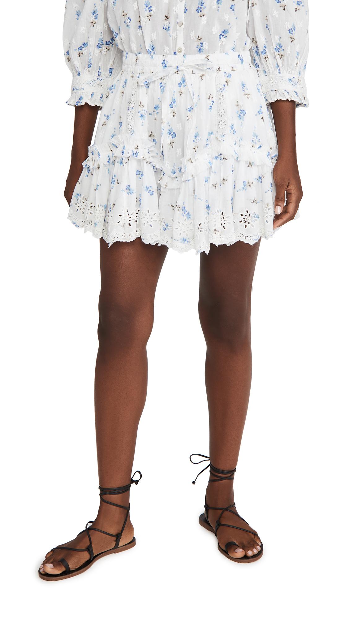LOVESHACKFANCY Becca Skirt