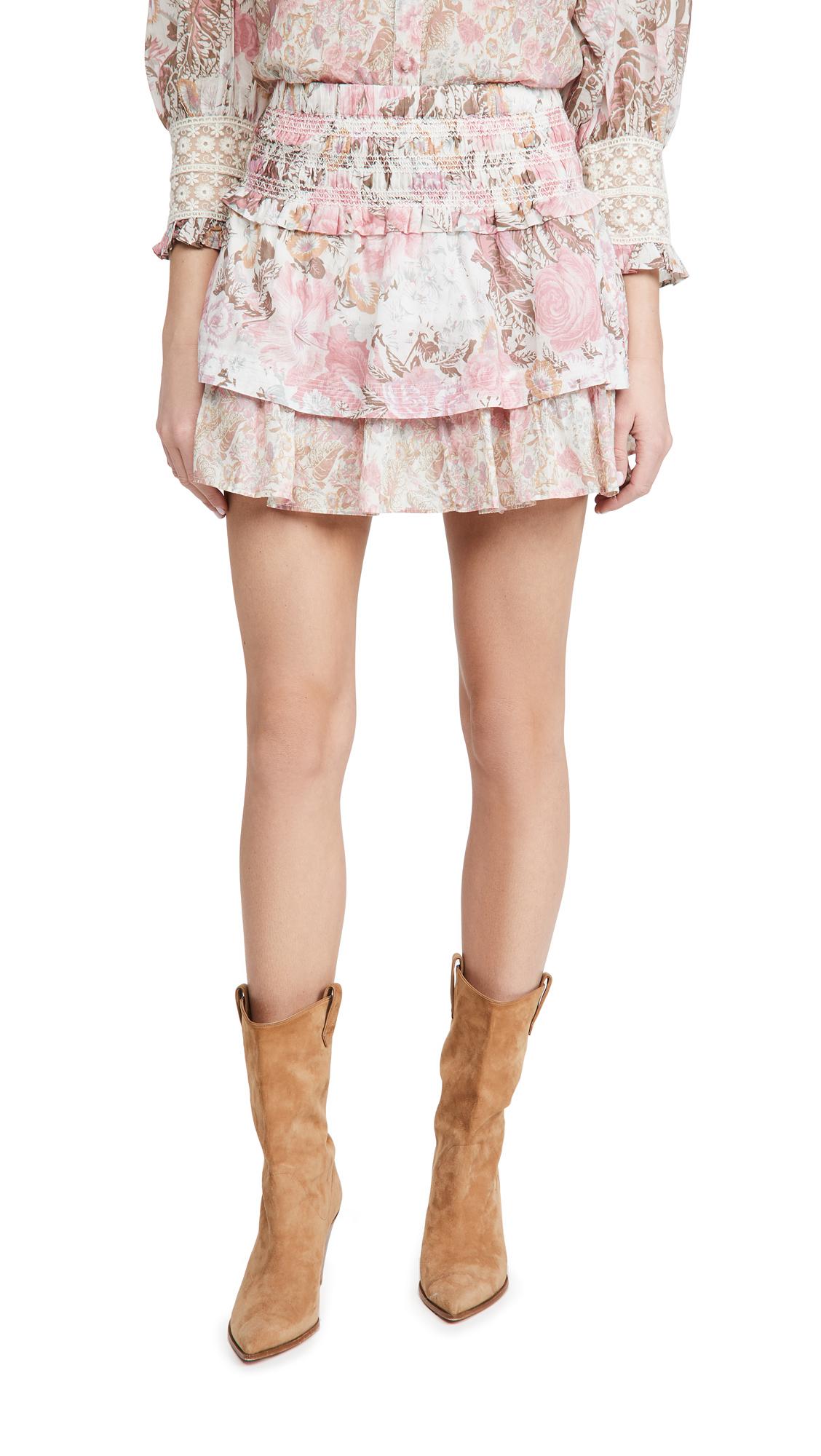 LOVESHACKFANCY Romita Skirt