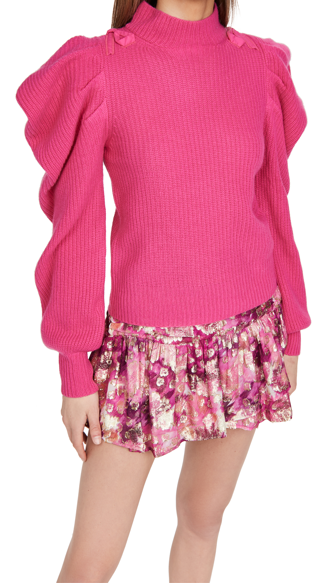 LOVESHACKFANCY Potter Cashmere Pullover