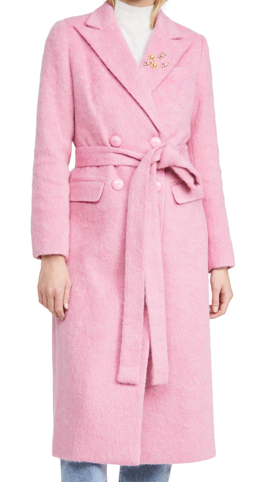 LOVESHACKFANCY Floret Coat