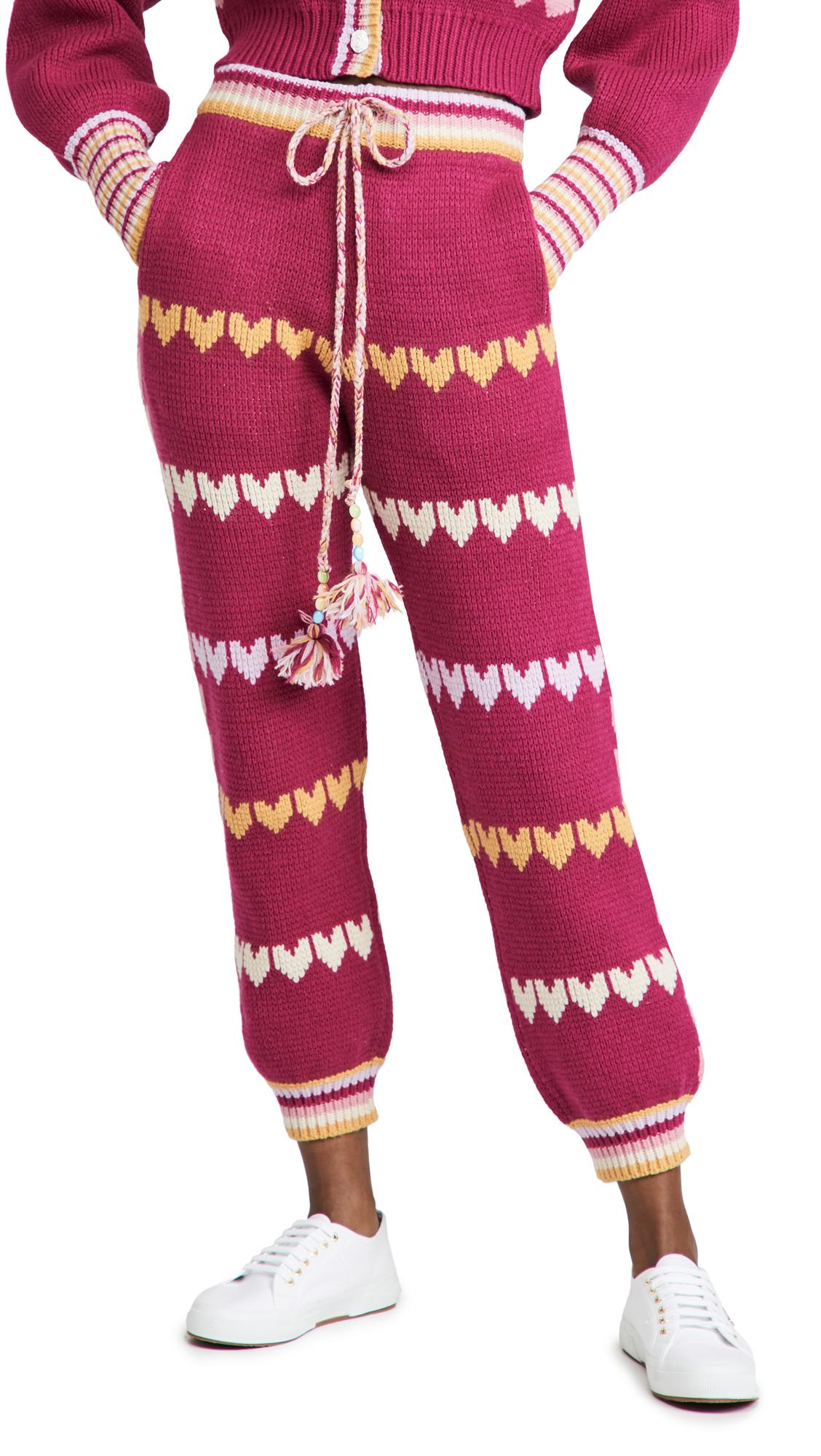 LOVESHACKFANCY Chabela Pants