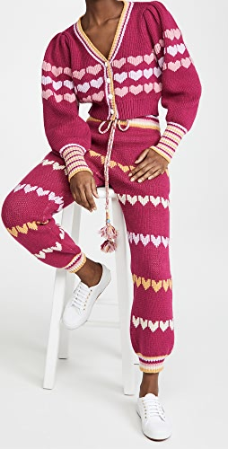 LoveShackFancy - Buena Cropped Cardigan