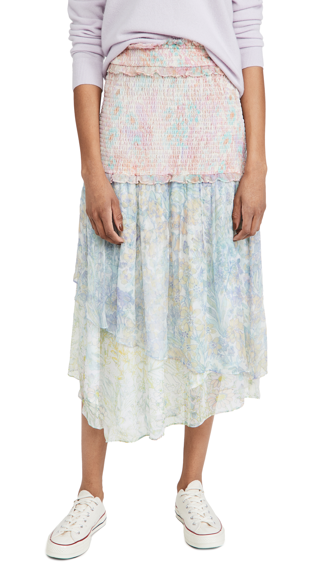 LOVESHACKFANCY Asaria Skirt