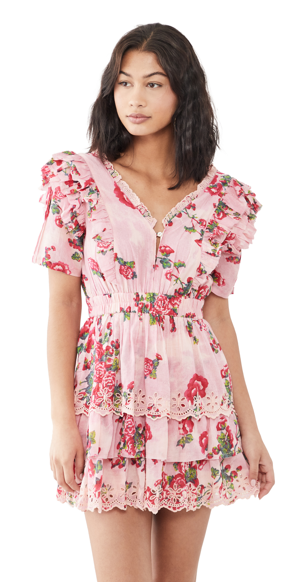 LoveShackFancy Aldina Dress