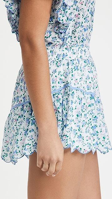 LoveShackFancy Memphis Skirt