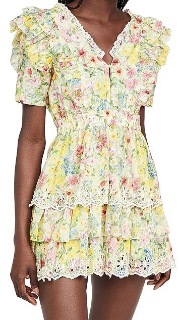 LoveShackFancy Aldina Dress
