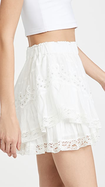 LoveShackFancy Briella Skirt