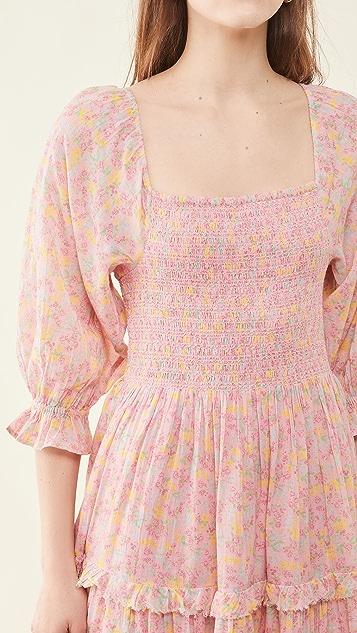 LoveShackFancy Capri Dress