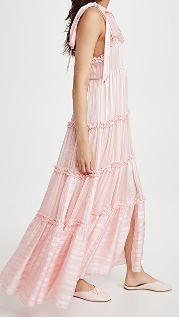 LoveShackFancy Burrows Dress