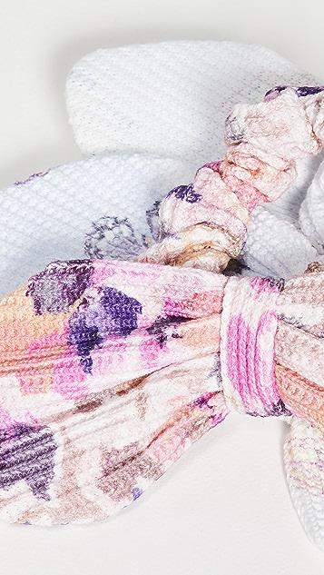 LoveShackFancy Breakfast In Bed Scrunchies
