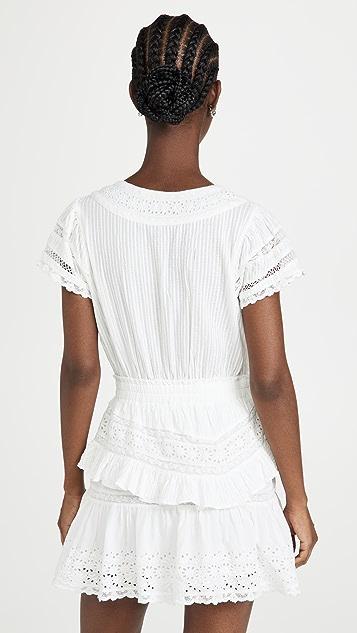 LoveShackFancy Jeromie Dress
