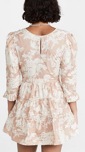 LoveShackFancy Lienzo Dress