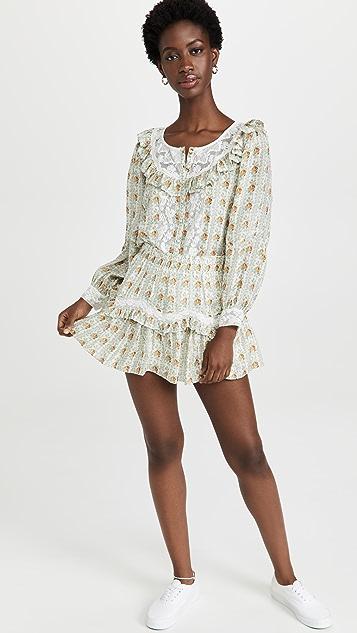 LoveShackFancy Piccolo Skirt