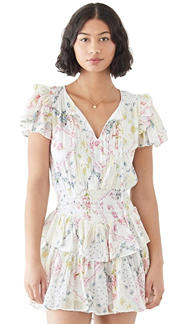 LoveShackFancy Audette Dress