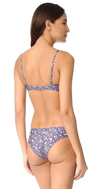 L*Space Liberty Mist Krissy Bikini Top