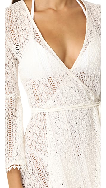 L*Space Aura Cover Up Wrap Top