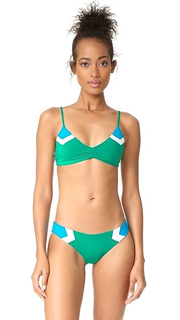 L*Space Haley Blocked Bikini Top