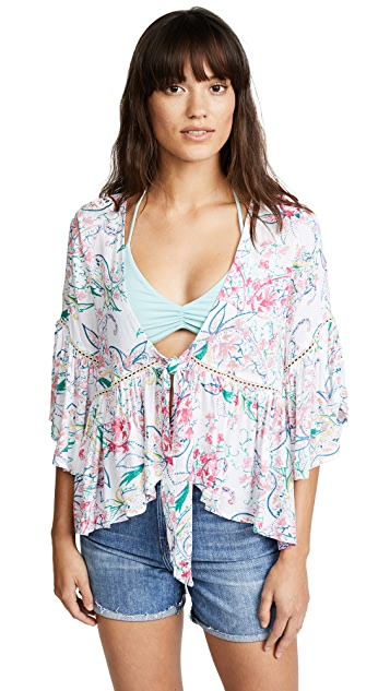 L*Space Lily Cover Up Top
