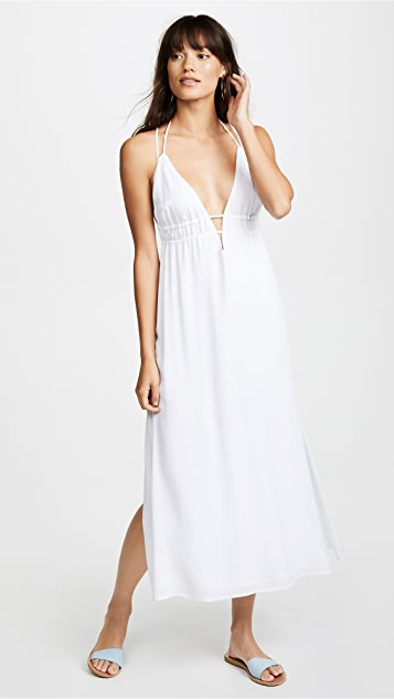 Beachside Beauty Dress in White. - size L (also in M) L*Space kDyQqJ