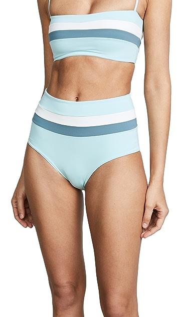 L*Space Portia Stripe Bikini Bottoms