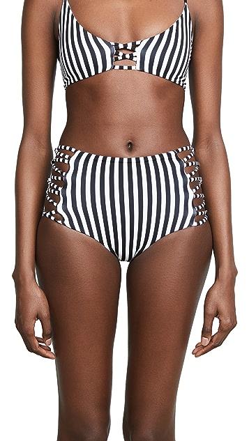 L*Space Reversible Tripp Bikini Bottoms