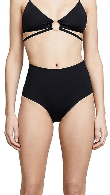 L*Space Portia 高腰泳裤