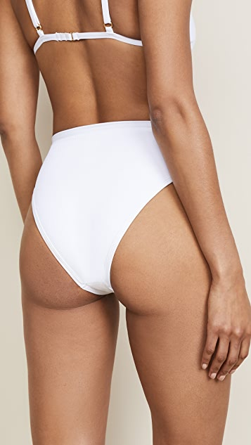 L*Space Frenchi High Waisted Bikini Bottoms