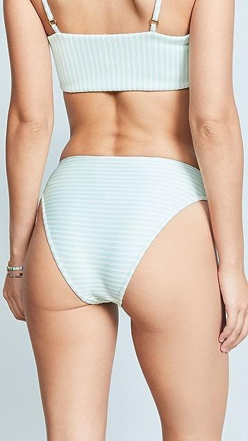 L*Space Ribbed Pierre Bikini Bottoms