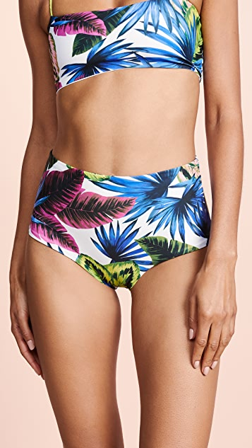 L*Space Portia Classic Bikini Bottoms - Electric Palm