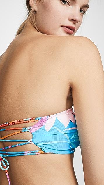 L*Space Beach Wave Bikini Top