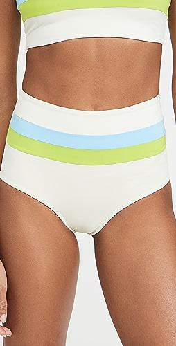 L*Space - Portia Stripe Bottoms
