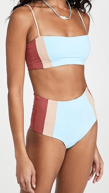 L*Space Rebel Heart Bikini Top