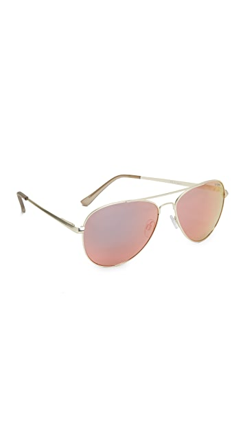 7c8bb7c68a0189 Le Specs Drop Top Sunglasses   SHOPBOP