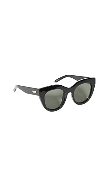 Le Specs Air Heart Sunglasses