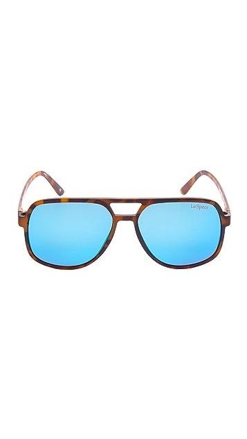 Le Specs Cousteau Mirrored Sunglasses