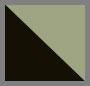 черный/хаки однотонный