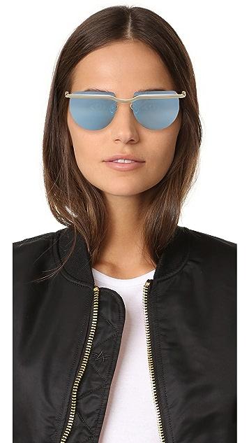 Le Specs Mafia Moderne Sunglasses